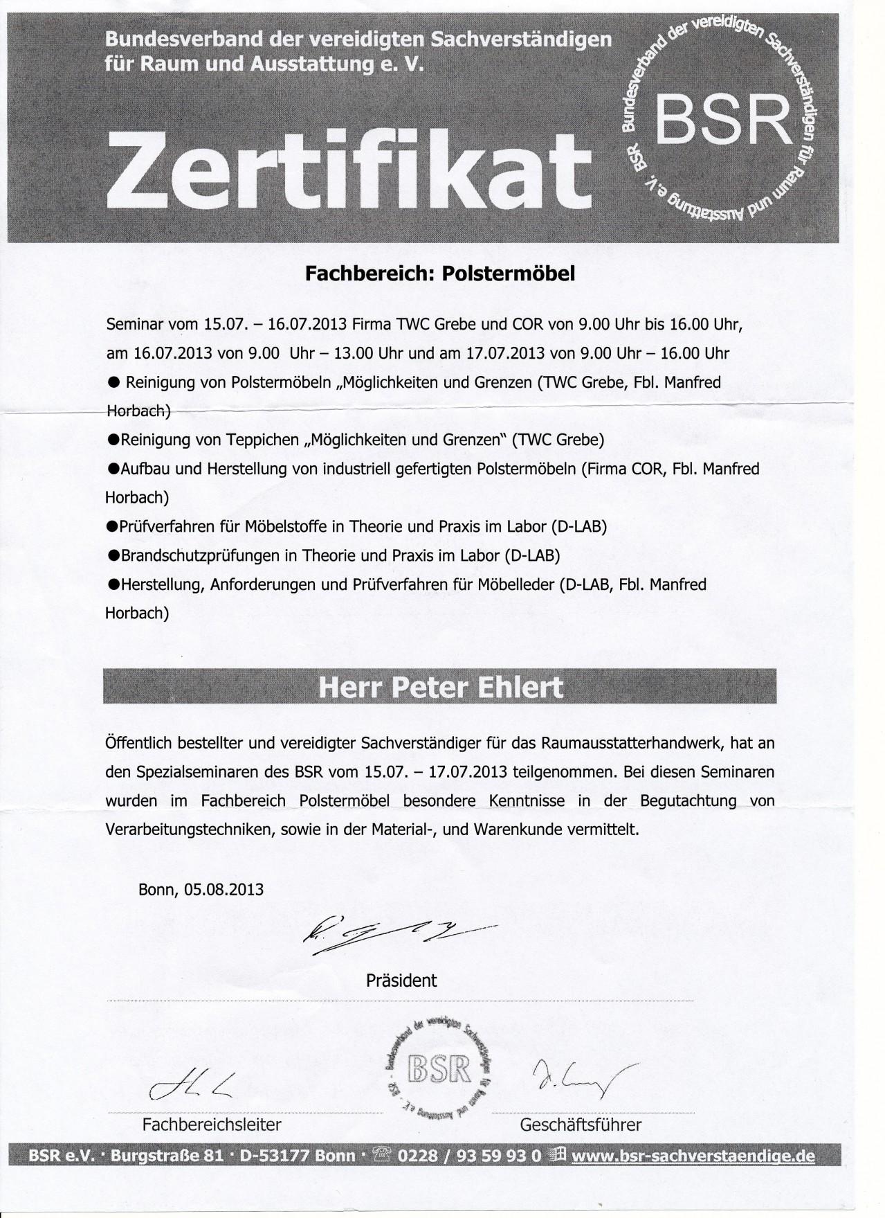 Fantastisch Polstermöbel Bonn Zeitgenössisch - Die Besten ...